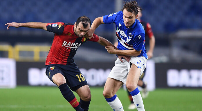 Sampdoria Genoa: formazioni e dove vederla