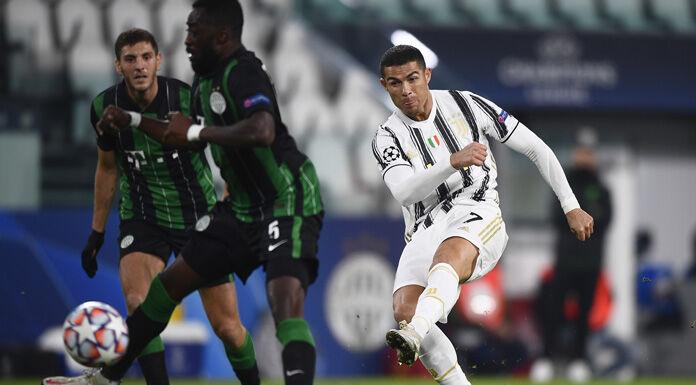 Juve Ferencvaros 1 1 LIVE: la pareggia Ronaldo INTERVALLO