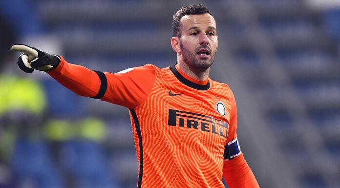 Inter, Handanovic: «Senza dolore non c'è amore. Gol annullato? È destino»