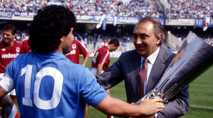 Maradona, Ferlaino: «I geni non vivono da uomini comuni»
