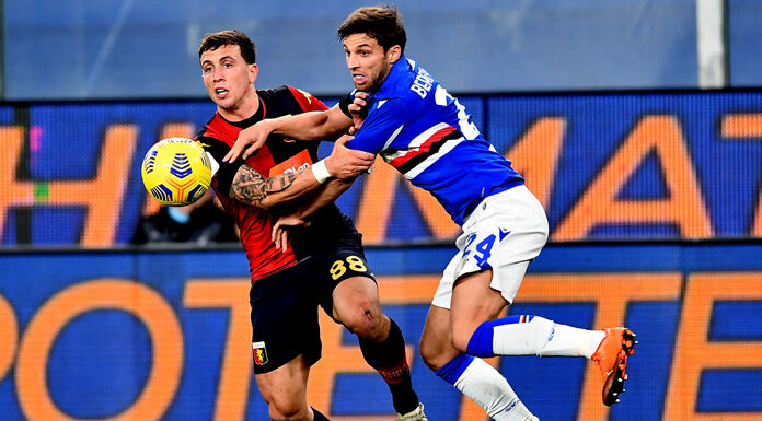 Sampdoria Genoa 1 3: cronaca e tabellino