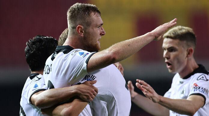 Bologna Spezia 0-1 LIVE |  la sblocca Piccoli con un gran gol