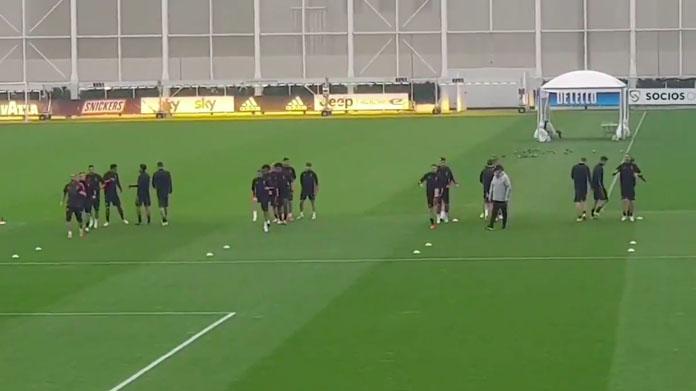 Allenamento Juve: bianconeri in campo per la rifinitura pre ...
