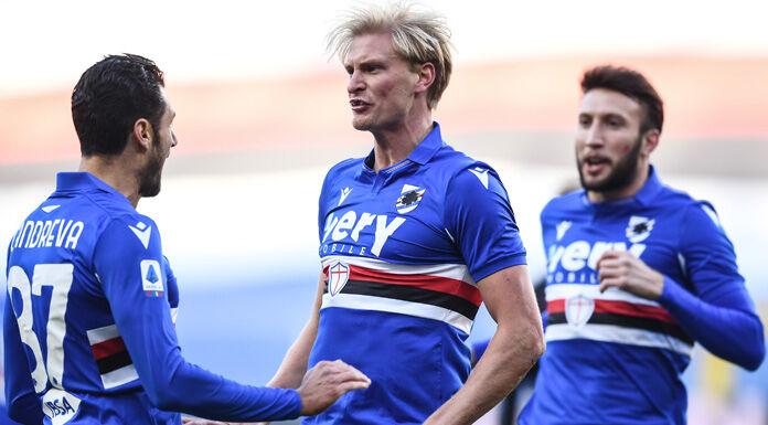 Sampdoria |  Thorsby |  «Siamo delusi  Volevamo vincere con il Bologna»