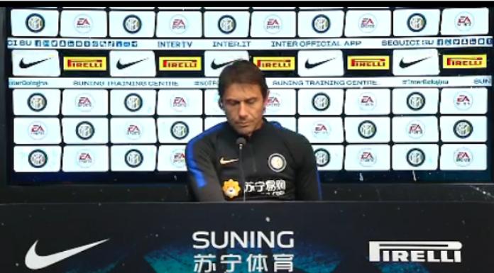 Conferenza stampa Conte: «Siamo sulla strada giusta. Udinese da non sottovalutare»