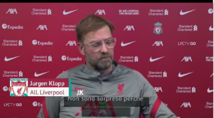 Liverpool, Klopp tuona: «I club ignorano la salute dei giocatori» – VIDEO