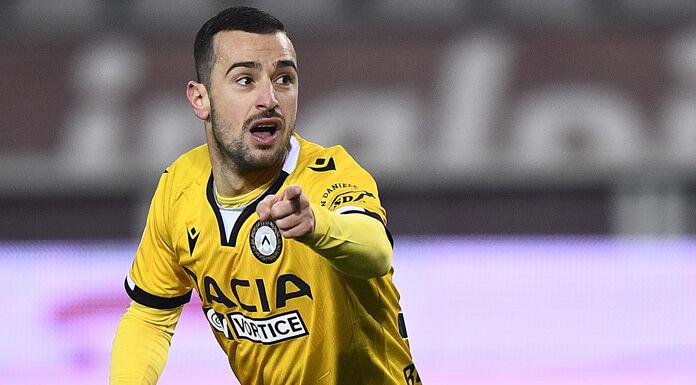 Udinese Fiorentina 1-0 |  cronaca e tabellino