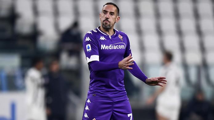 Ribery serie a ultime dai campi
