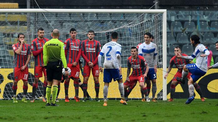 SERIE B, Cremonese-Brescia 2-2: derby nel fango, un punto a testa