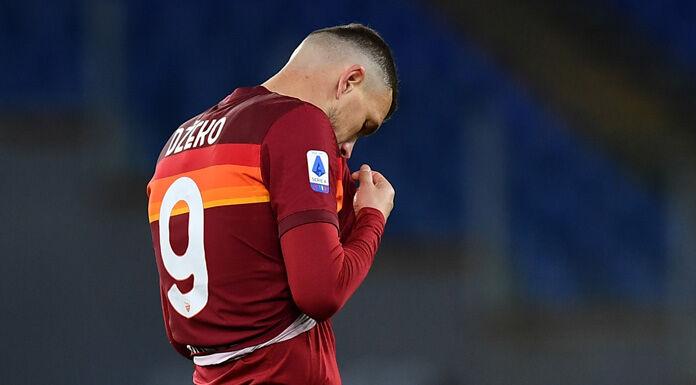 Roma, Dzeko confermato il problema alla coscia: lavoro individuale per Pellegrini e Mkhitaryan