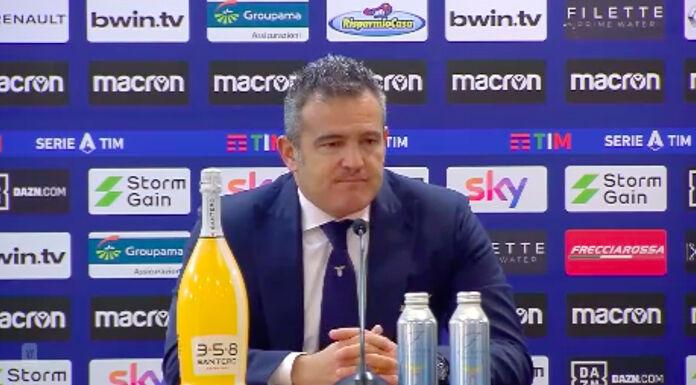 Lazio, il vice Farris: «Atalanta un fortino. Tenevamo alla Coppa Italia»