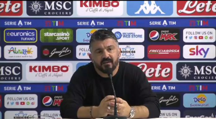 Napoli, Gattuso verso la Supercoppa: «Senza paura con la Juve» – VIDEO