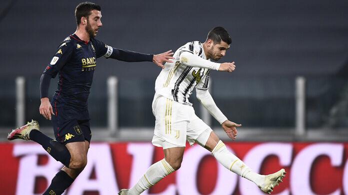 Juve Genoa 3-2 dts: cronaca e tabellino del match