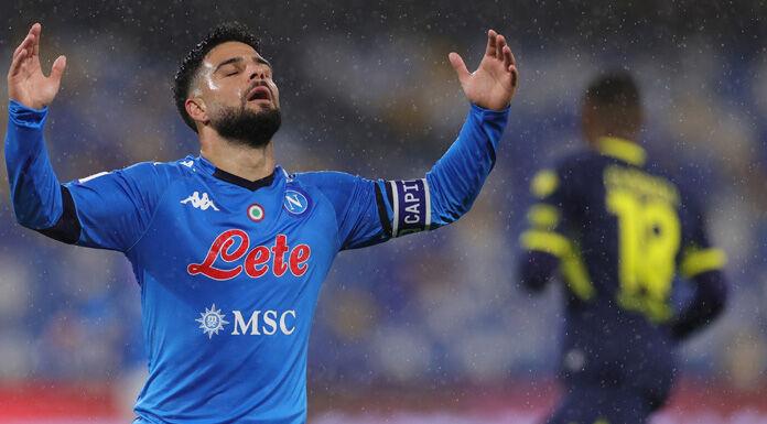 Napoli, la rabbia di Insigne contro i compagni: «Che squadra di m…a»