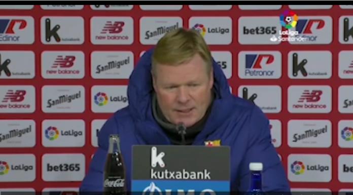 Coppa del Re, Koeman infastidito: «Non si possono sbagliare due rigori» – VIDEO
