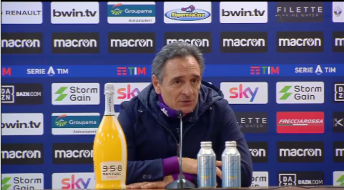 Fiorentina, Prandelli: «Incommentabile, chiediamo scusa» – VIDEO