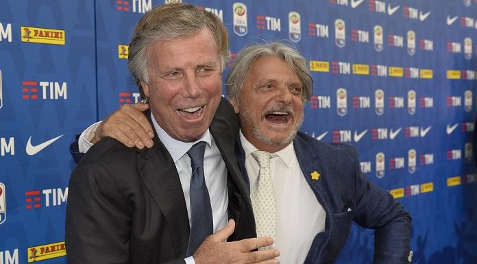 Sampdoria, Ferrero chiama la squadra dopo il derby