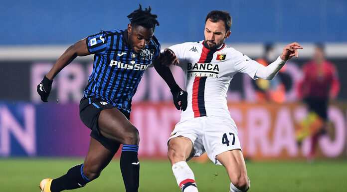 Atalanta Genoa, le pagelle: Zapata in giornata no, 5. Diga Radovanovic: 7,5