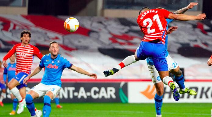 Napoli Granada 1 1 LIVE: squadre negli spogliatoi