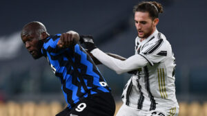 Lukaku Rabiot Inter Juve 300x169 - Supercoppa Italiana 2021: dove e quando si gioca Inter-Juventus