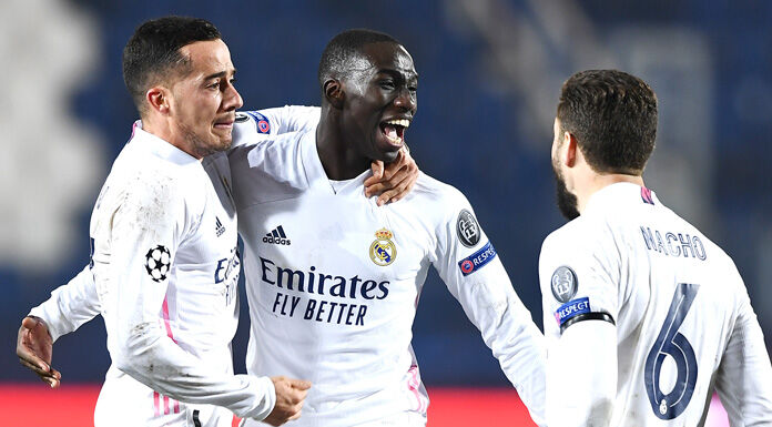 Real Madrid, Mendy: «Un onore segnare all'Atalanta. Giocano bene»