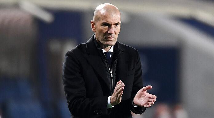 Real Madrid, Zidane: «Abbiamo giocato male. Rosso? Decide l'arbitro»