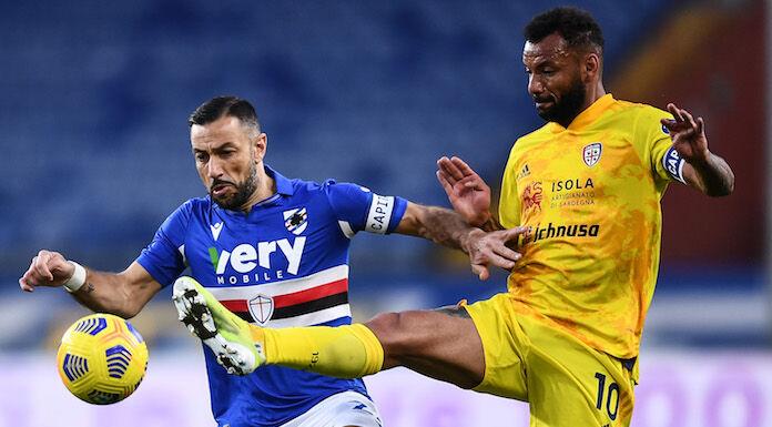 Sampdoria Cagliari 0 1 LIVE: doppio cambio Ranieri