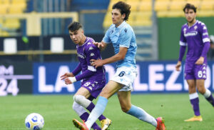 Bianco Floriani Mussolini Lazio Fiorentina Primavera 300x182 - Primavera 1, è ufficiale: dal 2022/2023 campionato a 18 squadre