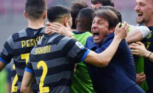 Scudetto Inter, in 3.000 per la festa al San Siro: rispettato uso mascherina | VIDEO