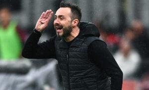 De Zerbi lascia il Sassuolo: «Ho già comunicato la mia decisione al club»