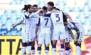 Esultanza Fiorentina 300x182 - Fiorentina, il campionato si chiude a 40 punti: peggior risultato dal 2002