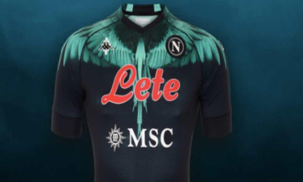 Napoli, ecco la nuova maglia firmata Marcelo Burlon: esordio ...