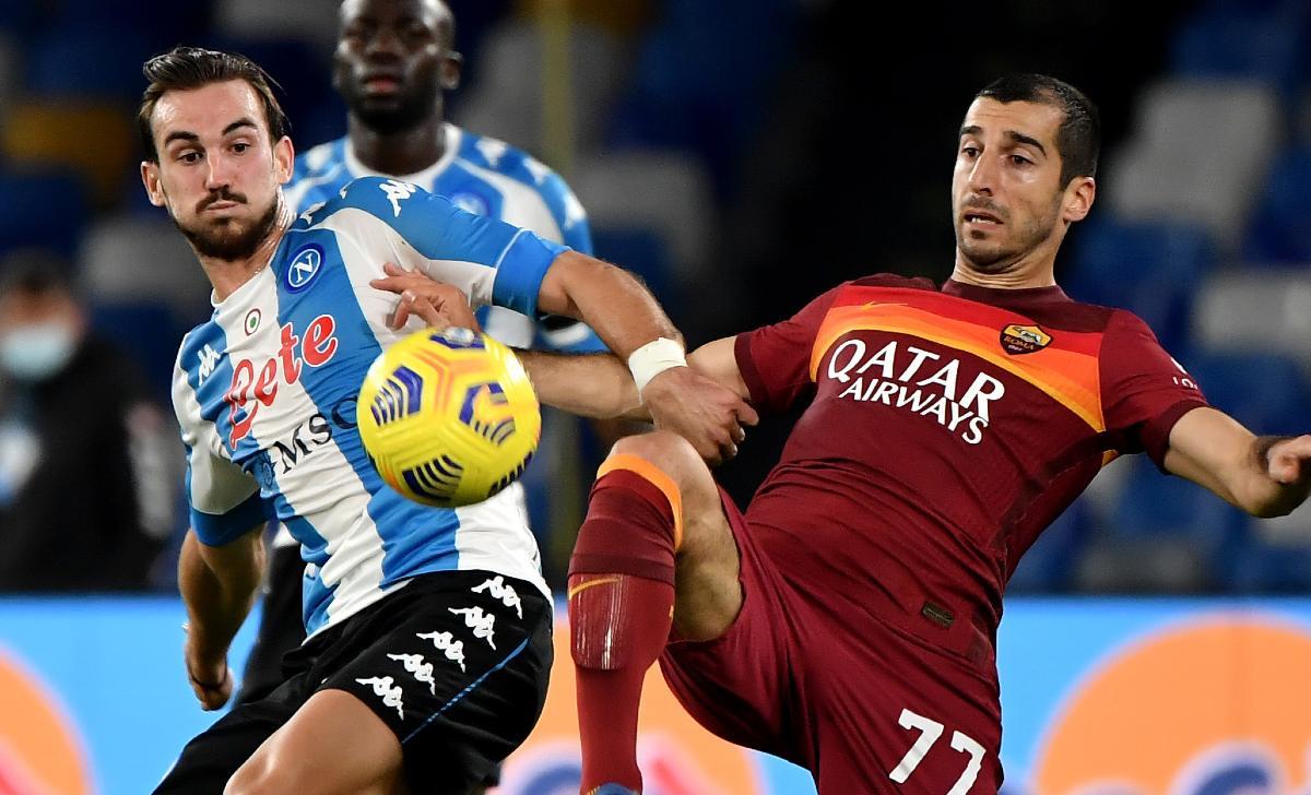 super league napoli roma