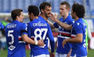 Sampdoria, ipotesi maglia rossa contro l'Inter. I dettagli