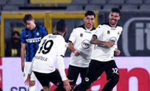 """Spezia-Inter, Conte: """"C'è un po'di pressione, ma meritavamo di più"""""""