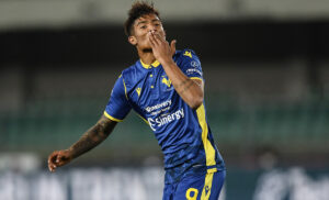 esultanza salcedo 300x182 - Calciomercato Inter: pressing della Serie B su Salcedo. Le ultime