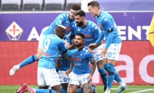 Esultanza Napoli 2 300x182 - Napoli, Spalletti sorride: tutti negativi i tamponi effettuati al gruppo squadra