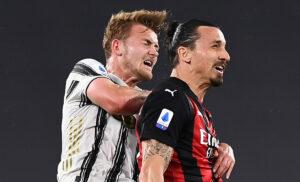 Ibrahimovic De Ligt Milan Juve 300x182 - Lotta Champions: Napoli, Milan, Juve ne rimarrà soltanto una (fuori)