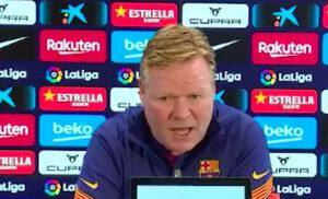 Koeman 300x182 - Barcellona, Koeman: «Risultato bugiardo. Allenatore sempre colpevole, ma i giocatori…»