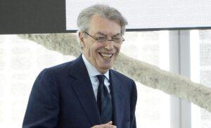 Inter, Moratti: «Con la Lazio sono sempre belle partite»