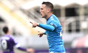 Zielinski:«Siamo una squadra forte. Sogno lo Scudetto con il Napoli»