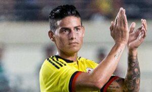 James Rodriguez in Qatar: il colombiano è stato spesso accostato al Milan