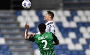Ronaldo Marlon 300x182 - Sassuolo Juve 0-2 LIVE: Cristiano Ronaldo fa 100 coi bianconeri