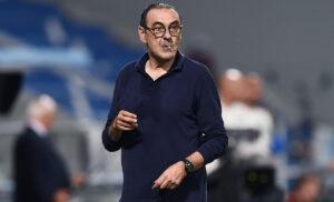 Sarri 300x182 - Sarri: «La Juve ora festeggia il 4° posto. Insigne l'italiano più forte»