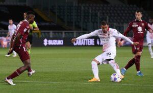 Torino Milan 0 5: Diavolo straripante, Rebic partecipa alla festa del gol