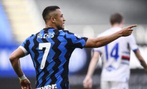Inter Sampdoria 3 1 LIVE: fine primo tempo – INTERVALLO