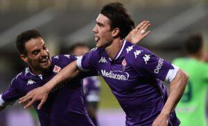 Fiorentina, Vlahovic:«Mai stato scontento. Paragone con Immobile? Non parlo»