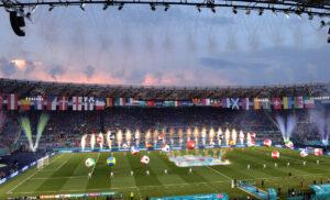 Cerimonia Euro2020 2 300x182 - Euro 2020, Costa: «Tifosi inglesi non ammessi. Giochiamo la finale a Roma»