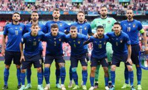 Italia 1 2 300x182 - Italia Bulgaria: Azzurri col lutto al braccio in ricordo di Francesco Morini