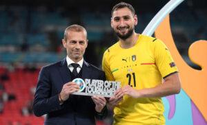 Donnarumma Ceferin 300x182 - Ceferin: «Nations League in Italia? Vasta esperienza FIGC, vinca il migliore»